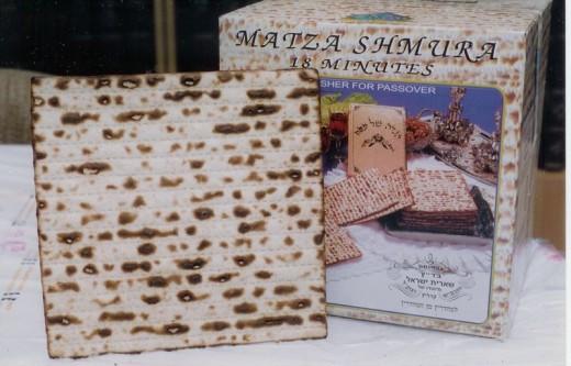 Matzo Cracker for S'mores