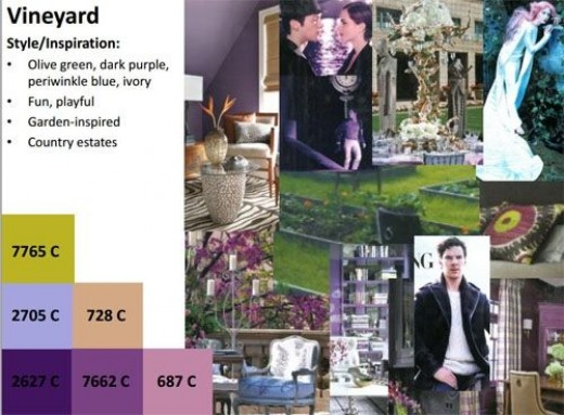 Image taken from 2012 Wedding Trends, distributed by Floral suppliers Smithers Oasis