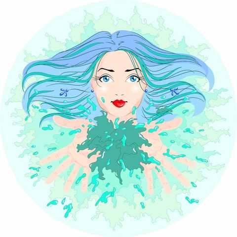 Aquarius-woman-with-Leo
