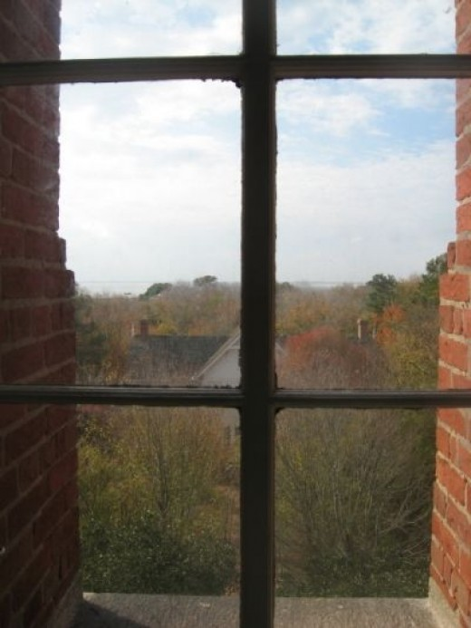 A View From The Currituck Light Station Window