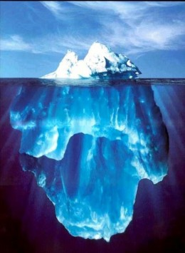 Ki is the immense energy force just under the tip of the iceberg.