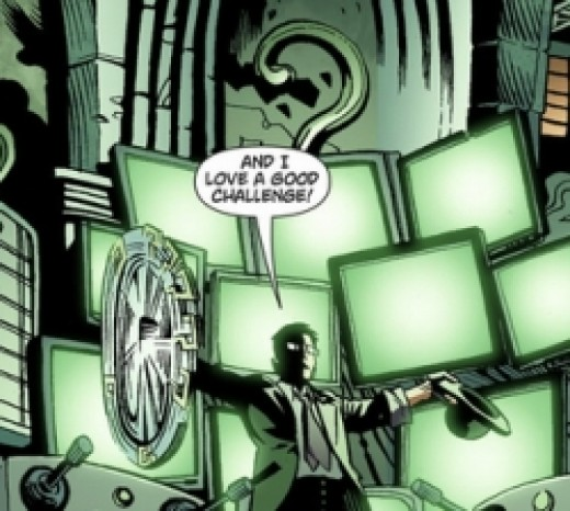 Batman: Arkham City Digital #3, excerpt