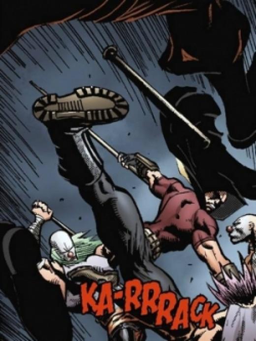 Batman: Arkham City Digital #4, excerpt