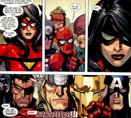 Excerpt from Secret Invasion #6