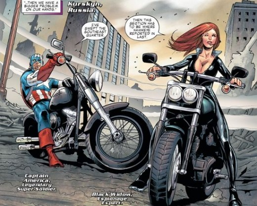 Excerpt from Harley-Davidson Avengers #1 (2012)