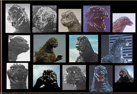 The Different Faces of Godzilla