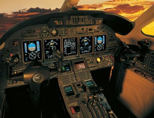 Citation X cockpit