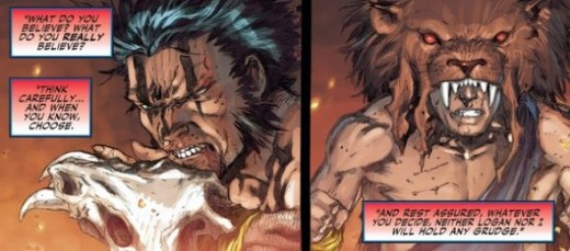 The Split between Cyclops and Wolverine, Regenesis #1