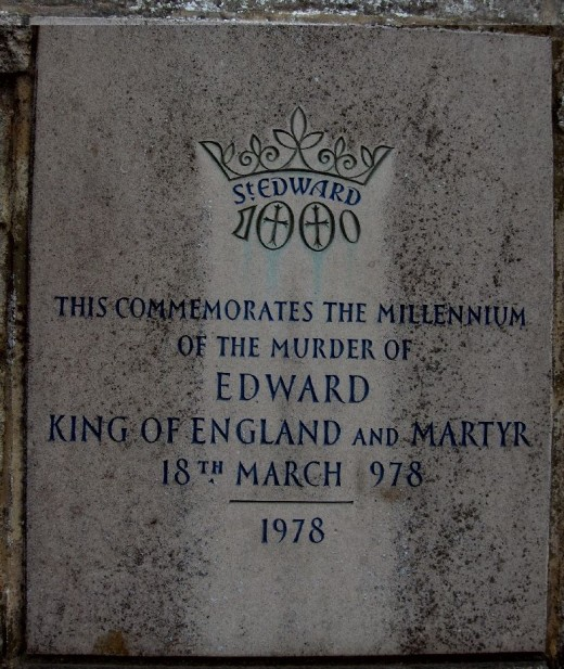 King Edward of England Murdered 978 A.D.