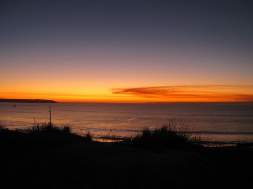 Sunset Over Phillip Island