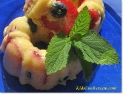spring berry fruit mold