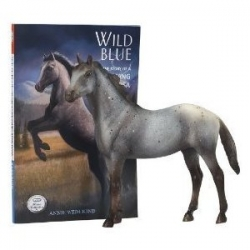 Wild Blue Appaloosa Breyer horse set
