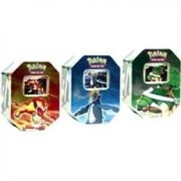 Pokemon Collector's Tins from the Pokemon Trading Card Game