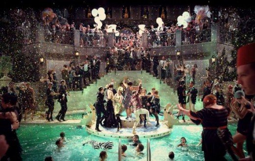 The Great Gatsby Pool Party!