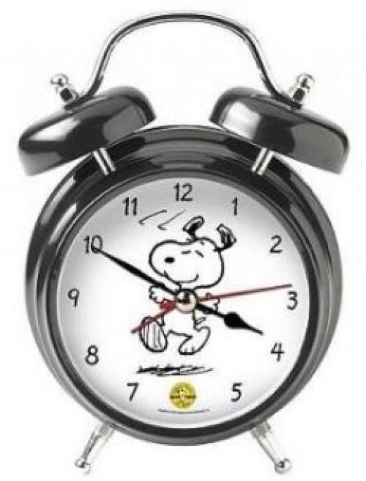 type=snoopy alarm clock