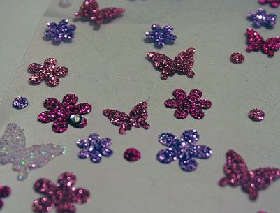 Sparkly Stickers
