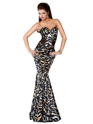 Jovani Camouflage Look Fitted Prom Dress 9623
