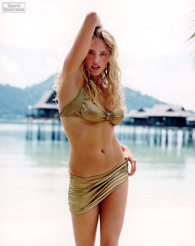 Estella Warren in a bikini