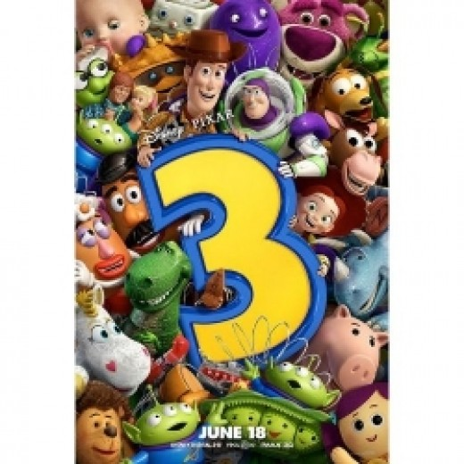 Toy Story 3 character poster