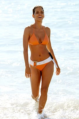 Halle Berry as Jinx in the James Bond film, Die Another Day