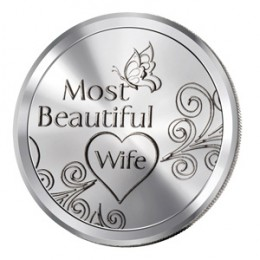 Most Beautiful Wife Silver Coin