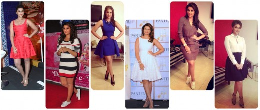 Here are some short, stylish and fashionable moments of Daawat-E-Ishq actress Parineeti Chopra during her film promotions. For keeping it stylish, we would love to give credits to her stylist Nitasha Gaurav.