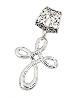 Elegant Scarf Charms with Hidden Meanings