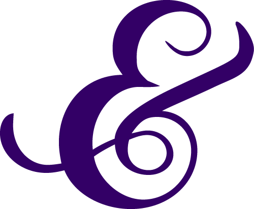 Stylized, modified Chopin Script Ampersand
