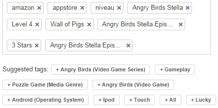 This is my own personal tags on one of my video. I didn't use suggested tags because I personally add my own tags