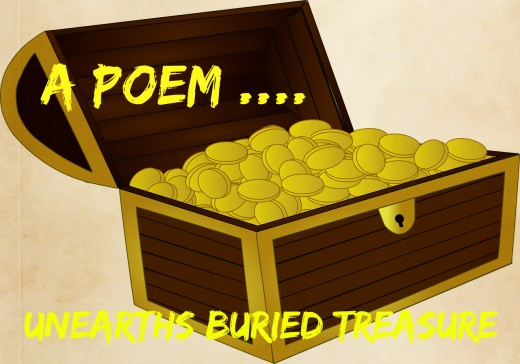 A poem...unearths buried treasure.