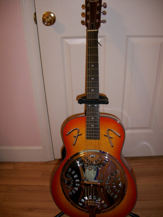 The Fender is a great guitar for Bluegrass music.