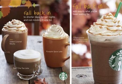 Starbucks Fall Drinks BOGO