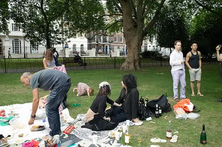 A Picnic in Lincoln's Inn Fields