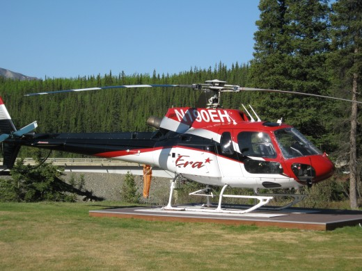 A helicopter tour is a unique way to experience Denali.