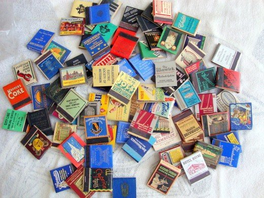 You will be surprised at the amazing pieces of history you can find in matchbooks, and matchboxes.