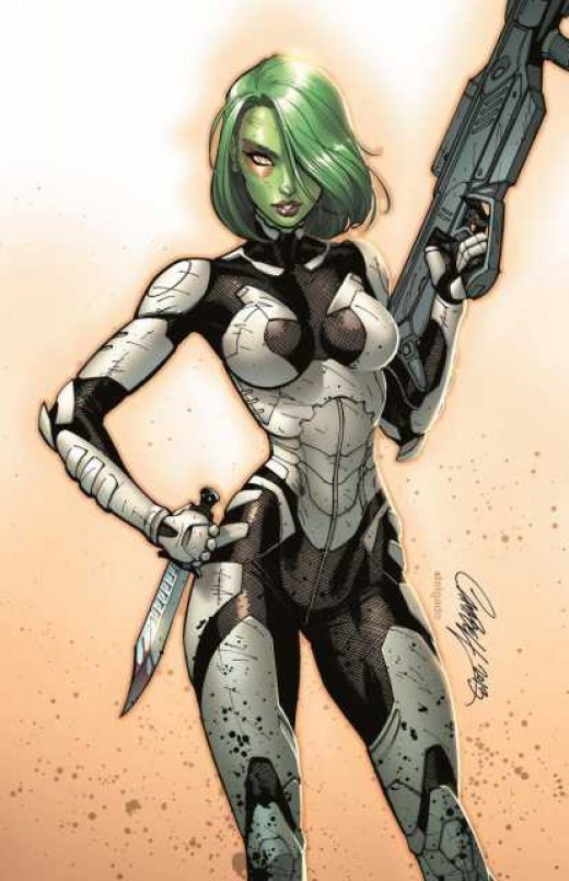 Gamora Space Suit