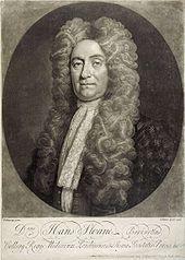 Sir Hans Sloane, founder