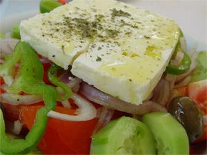 www how to make greek salad