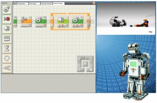 Lego Mindstorms Software Demo