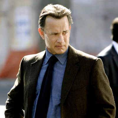 Tom Hanks as Robert Langdon in The DaVinci Code