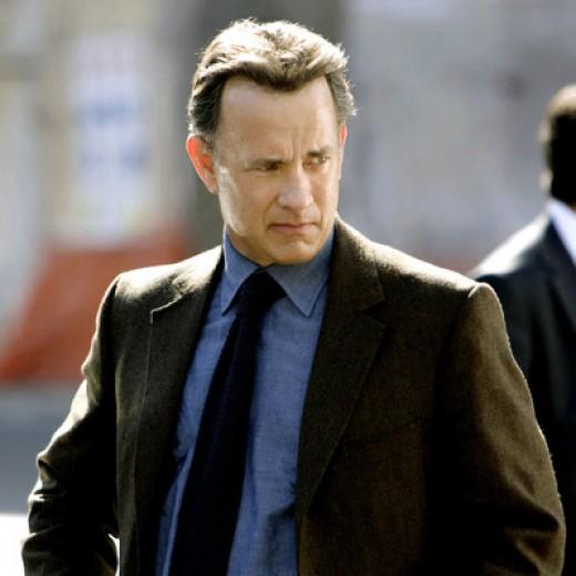 Tom Hanks as Robert Langdon in The DaVinci Code