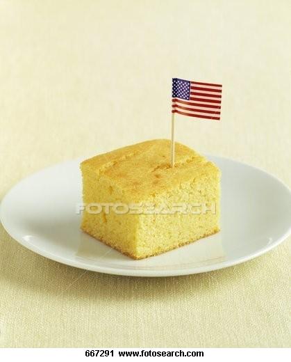 American corn muffin