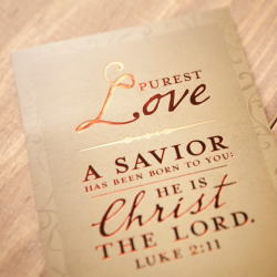 Love Came Down-A Savior Has Been by Dayspring