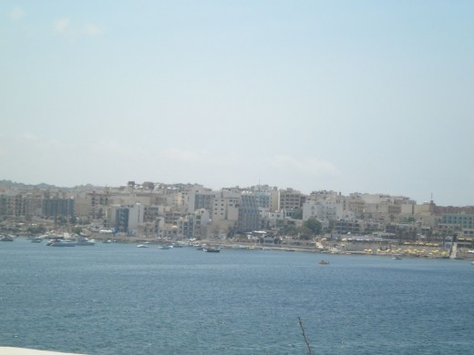 View to Qawra