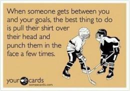 Getting Between your Goals
