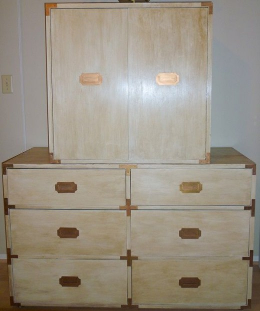 A complete transformation! These pieces are in my Master Bedroom and provide lots of welcome extra storage.
