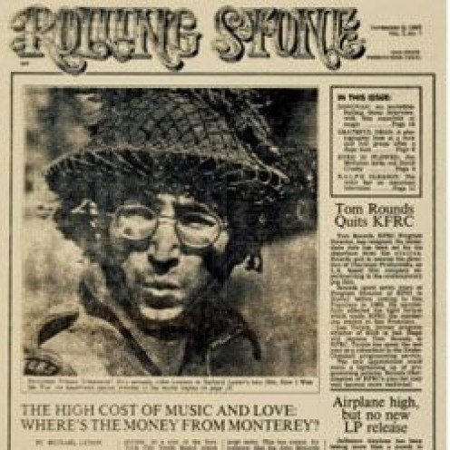First Issue of Rolling Stone Magazine November 9, 1967 with John Lennon