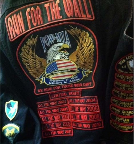 RFTW Vest to Vietnam Veterans Memorial Wall
