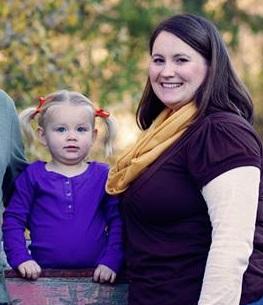 Anita and her preschooler...with kindergarten on the horizon!