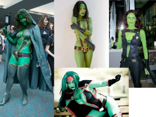 Alternate Gamora Cosplay Costumes